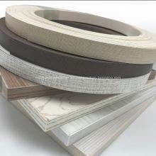 Bandas de borde de PVC de 0,4 * 22 mm para muebles para el hogar