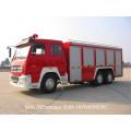Sinotruk Truck Chassis 6cbm Foam Fire Figher Truck