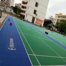 Enlio PP Floor Tile Playground Flooring Court Tiles