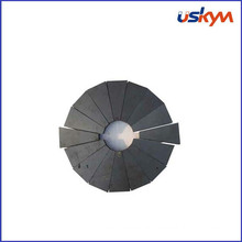 Small Permanent Ferrite Arc Magnets Custom High Power for Motor