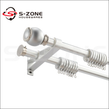 wrought aluminum curtain handle rods