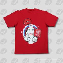 Camiseta de encargo de la aduana / de la camiseta de los