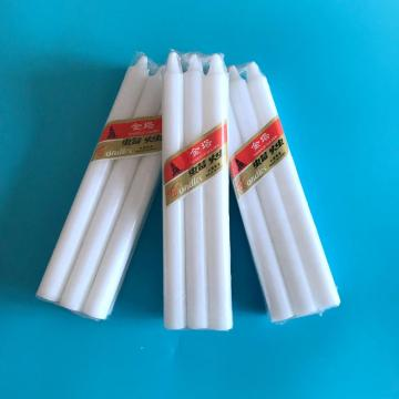6pcs+Packing+Pure+White+Wax+Candle+Exporter