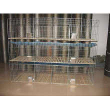 Commercial rabbit cages for  breeding