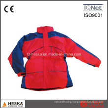 PVC Backing Ripstop Padded Cheap Parka Jackets