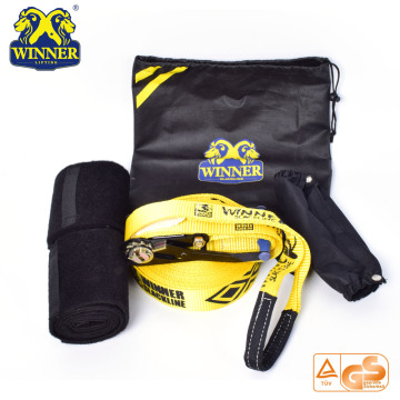 Outdoor Gezonde Sporten Popluar Mountain Equipment Slackline
