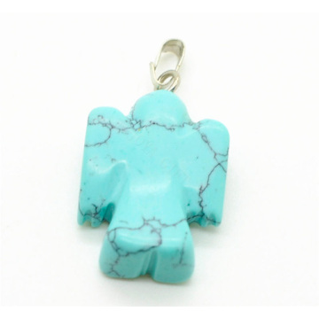 Pendentif Forme Turquoise