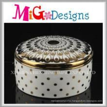 New Design Modern Home Decorative Ceramic Jewelry Box