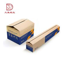 Bonne qualité boîte de carton d'expédition ondulée de couleur personnalisée créative spéciale