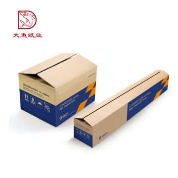 Good quality special creative custom color corrugated mailing cardboard box