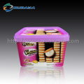 customized printing IML plastic container