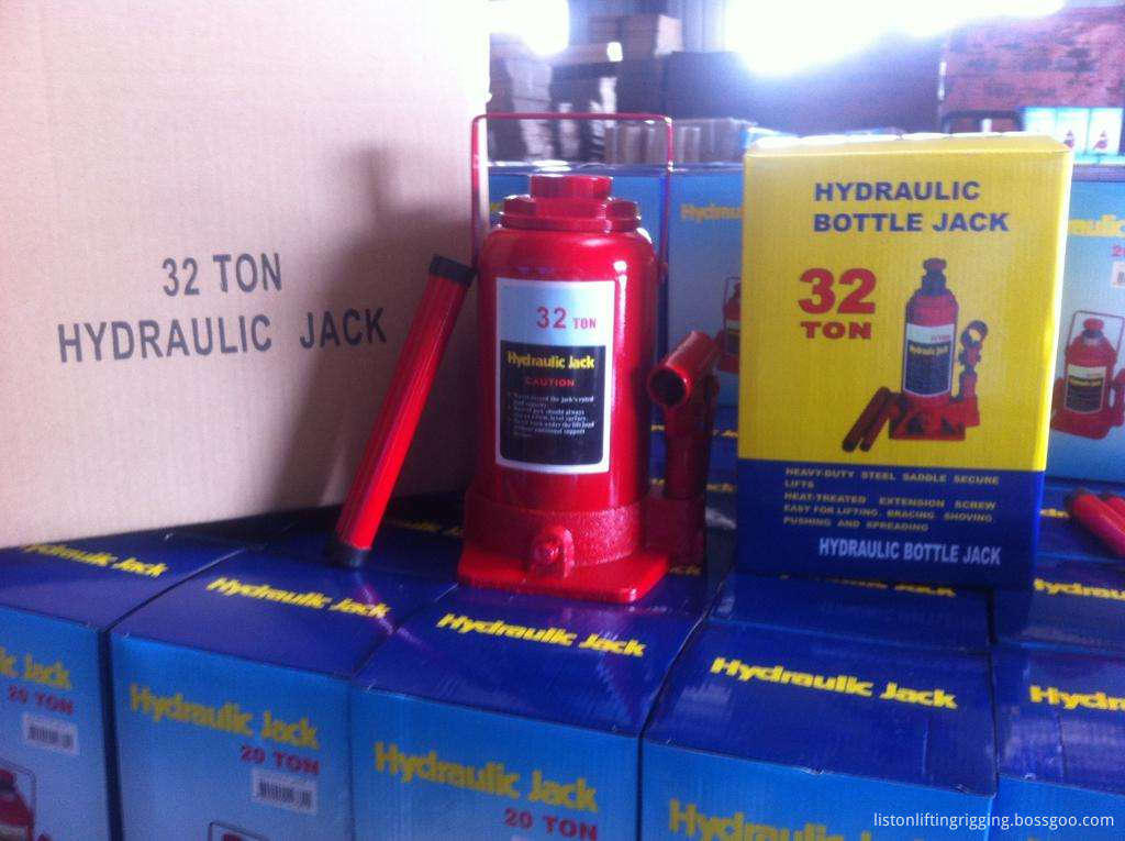 Standard bottle hydraulic jack