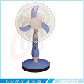 """12"""" High Low Speed AC DC Recharge Battery Fan with LED Light Table Fan"""
