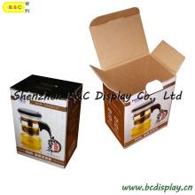 Caixa de cor ondulada da caixa da caixa de papel da caixa dos produtos do chá da qualidade (B & C-I017)