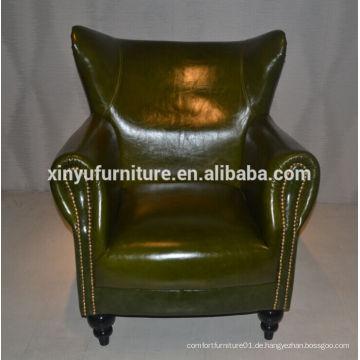 Modernen italienischen Stil Leder Lounge Sofa XYN2692