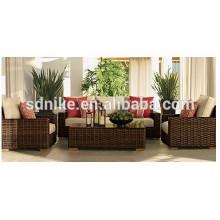 2014 latest design outdoor furniture rattan modern sofa