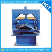 Máquina de formação de rolo de tampa de cume, máquina de formação de rolo para venda, barra de telhado de metal rolo de rolo máquina de formação