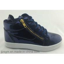 2 colores moda casual zapatos de skate para las mujeres, de corte alto