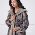 Lady Kopenhagen Mink Fur Overcoat