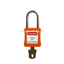 Les meilleures ventes approuvent la certification CE 304 en acier inoxydable grille de sécurité cadenas