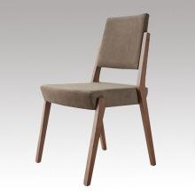Твердая деревянная Обедая стул ткань с известными дизайн