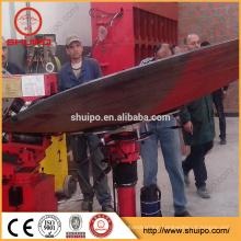 2017 SHUIPO machine Dished end flanging machine No Template Irregular Dished Head Folding equipment