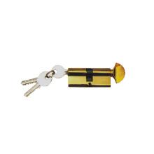 Cerradura de cilindro de latón de alta seguridad