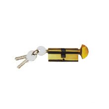 Fechadura de cilindro de latão de alta segurança