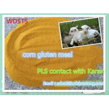 Farinha de glúten de milho para ração animal com alta qualidade