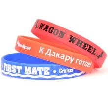 Good Sale Custom Printed PVC Wristbands for Sale