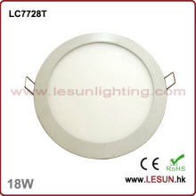 18W LED Round Recessed Ceiling Panel Light (LC7728T)