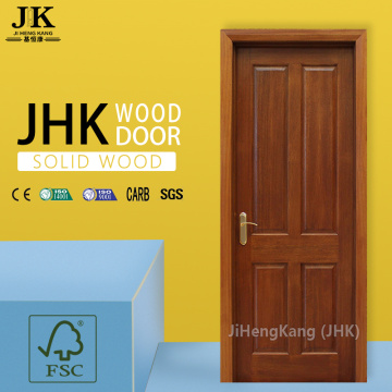 JHK-2 Panel Antique Carved Solid Wood Door