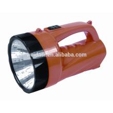 Hand-held Lâmpada de Busca LED, WD-3390 Adventure Hunting Light luz da tocha grande