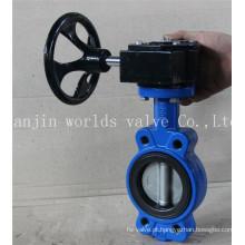 Válvula Borboleta Semi-Lug com Certificado ISO Wras