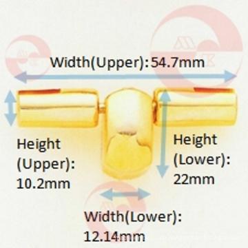 Zink-Legierung Metall Tasche T-Wing Case Lock