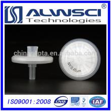 Filtros de seringa de hidrogóbio nylon 0.45um