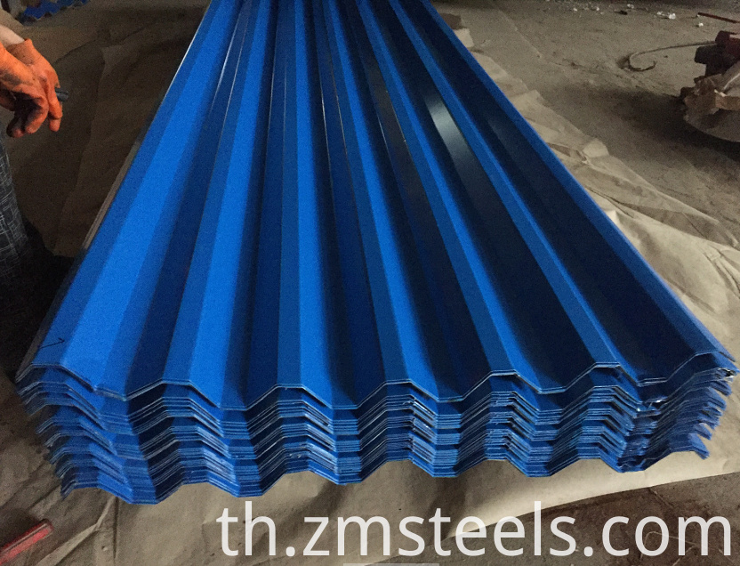 725 Type Trapezoidal Roof