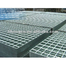 Galv grille plate, galv grating floor