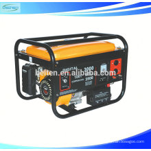 Air Cooled Single Cylinder 4 Stroke Recoil Electric Start Gasoline Generator 6.5HP