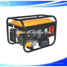 Ar Arrefecido Cilindro Único 4 Passos Recoil Comissionamento Elétrico Gerador De Gasolina 6.5HP