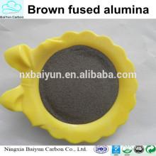 Prix d'oxyde d'aluminium brun de haute pureté 99.5% poudre d'oxyde d'aluminium