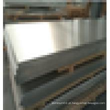 Folha de alumínio 5082 O ampla para uso de transporte de trilhos