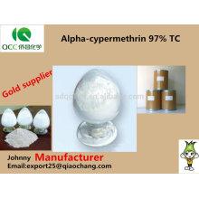 Alpha-cyperméthrine 97% tc 10% ec 5% wp insecticide -lq