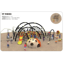 Children  outdoor playground climbing facilities