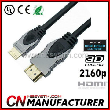 A to C type cable Mini HDMI