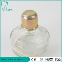 Dental Lab Glass Alcohol Lamp with Metal Cap