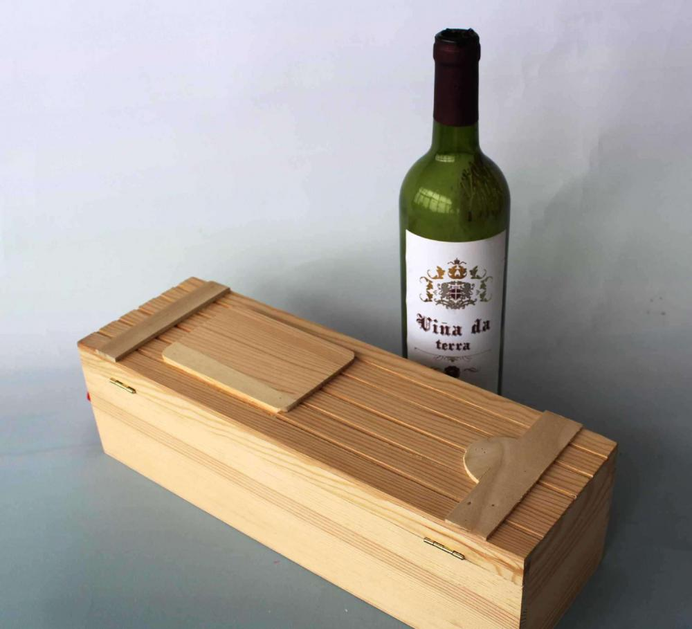 Bamboo Carved Wine Box