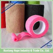 nichtgewebte wasserdichte selbstadhäsive elastische Binde