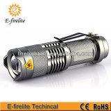 CREE Q5 3W high power LED flashlight with zoom function