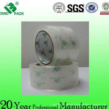 China fábrica de agua de BOPP base acrílico cartón sellado embalaje embalaje cintas de sellado